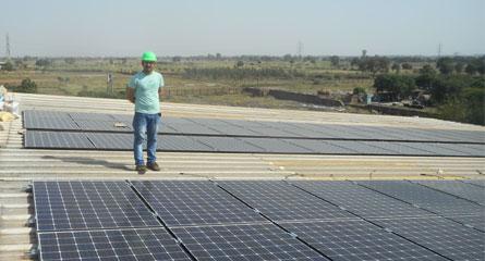solar panel in india